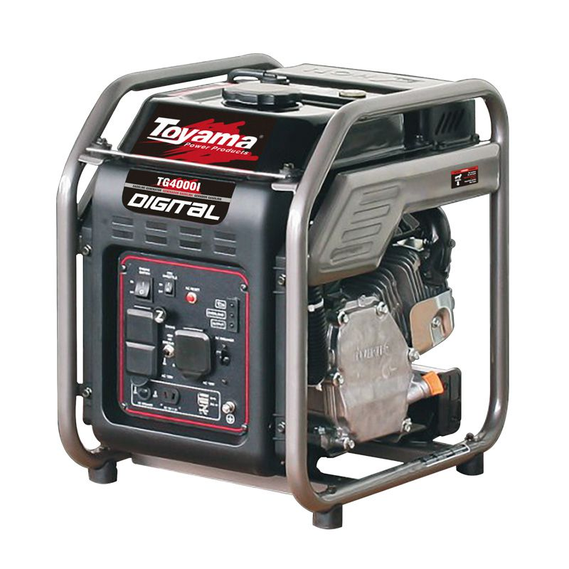Gerador Digital A Gas.  4 Tempos Tg4000Ip-220V Toyama