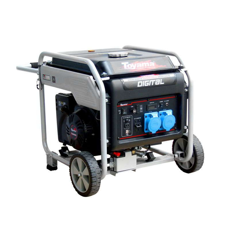 Gerador Digital A Gas.  4 Tempos Tg9000I Toyama