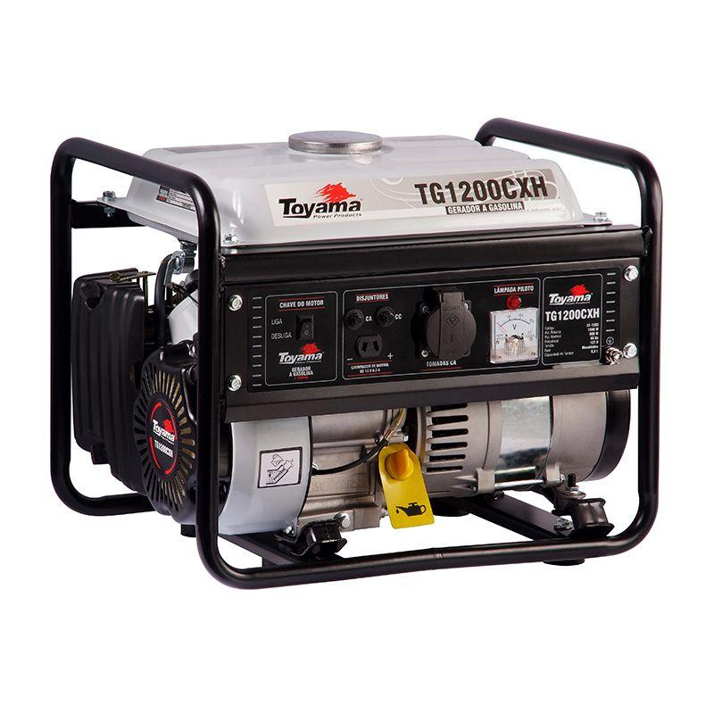 Gerador Gas. 4 Tempos - Monof. Tg1200Cxh-220 Toyama