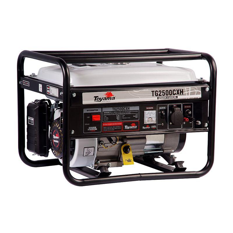 Gerador Gas. 4 Tempos - Monof. Tg2500Cxh-110 Toyama