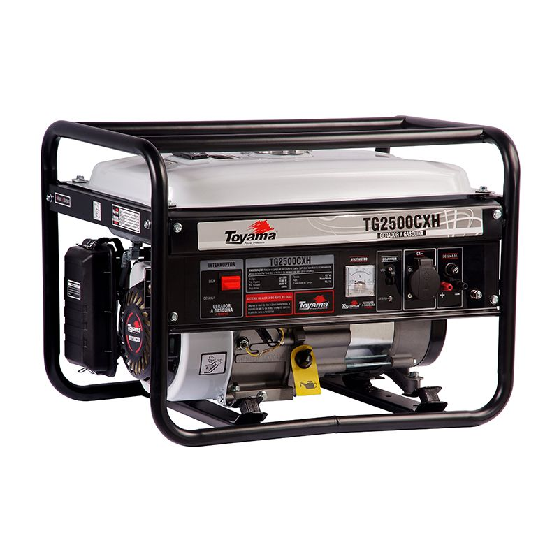 Gerador Gas. 4 Tempos - Monof. Tg2500Cxh-220 Toyama