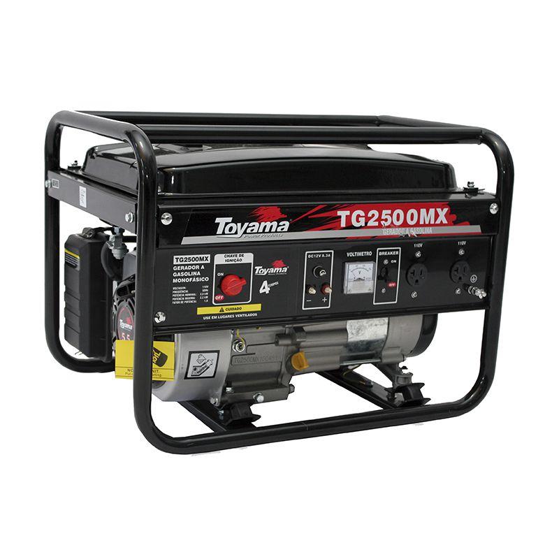 Gerador Gas. 4 Tempos - Monof. Tg2500Mx-110 Toyama