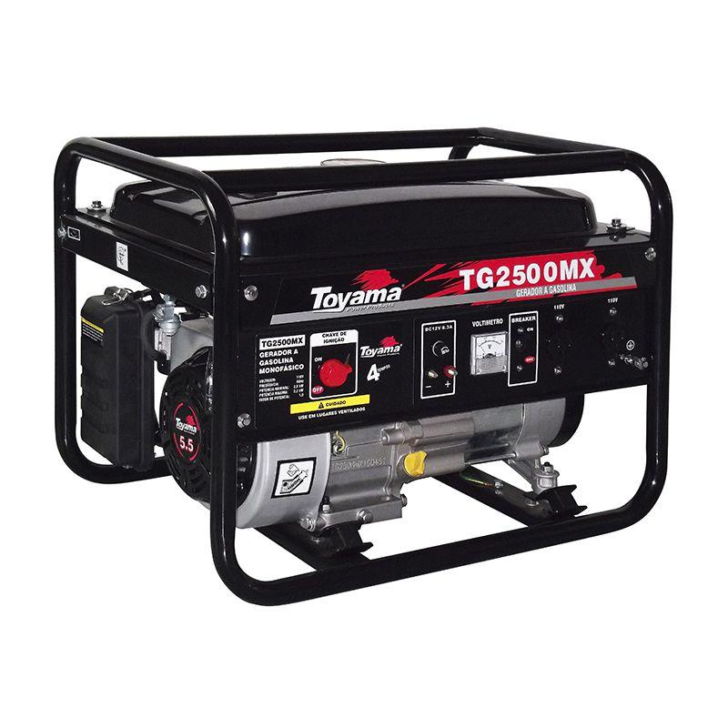 Gerador Gas. 4 Tempos - Monof. Tg2500Mx-220 Toyama