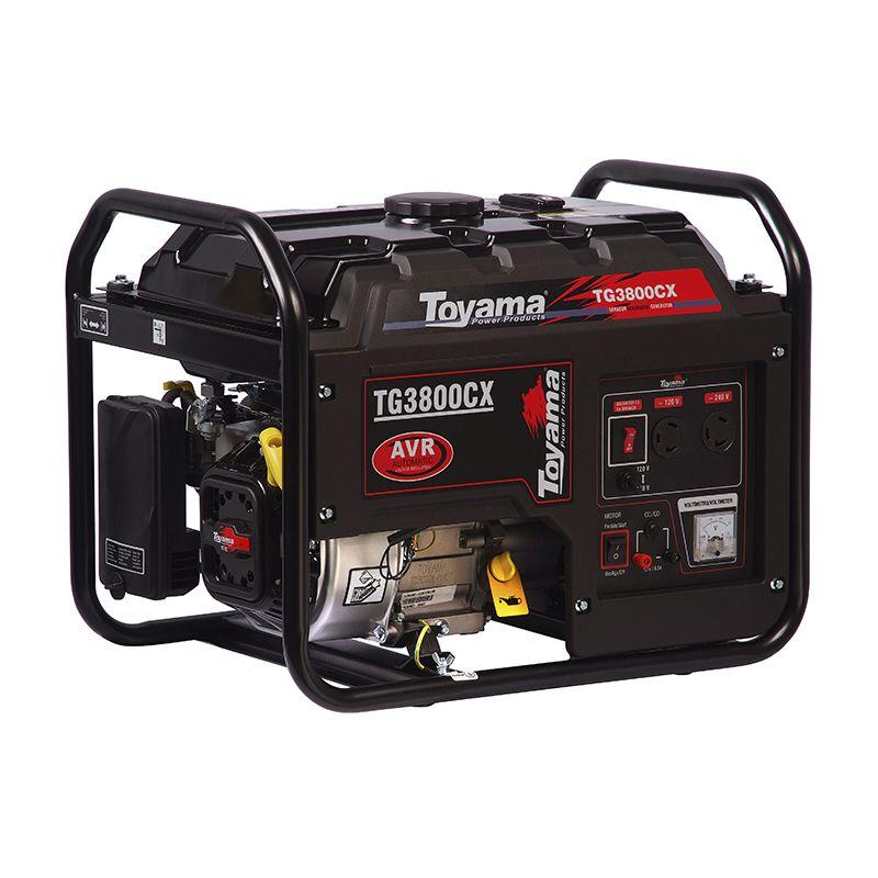 Gerador Gas. 4 Tempos - Monof. Tg3800Cx Toyama
