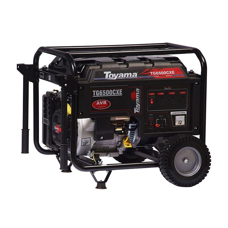 Gerador Gas. 4 Tempos - Monof. Tg6500Cxe Toyama