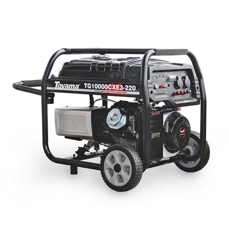 Gerador Gasolina  4 Tempos - Trifásico Tg10000Cxe3-380 Toyama
