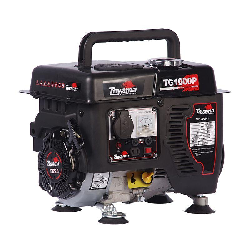 Gerador Portátil A Gas. 4 Tempos Tg1000P-110 Toyama