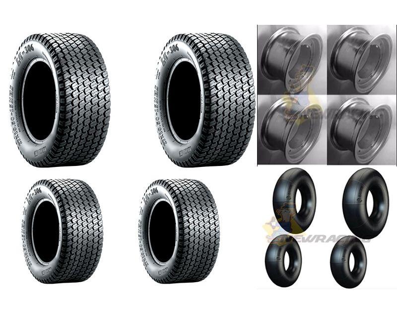 Jogo pneus- 2x 16/6.5-8 - 2x18/8.5-8 montado