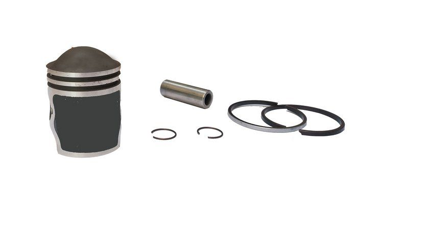 Kit Pistão E Anéis Para Walk Machine E Motorella  0.50
