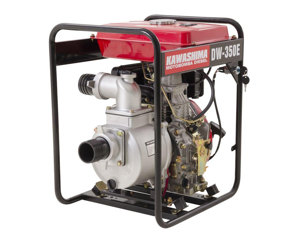 Motobomba Diesel 3 0 Dw350E Dlx Kawashima