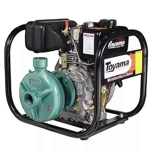 Motobomba Diesel Centrífuga 2x1. 1/2 38m³/h Tdc2n10b Toyama