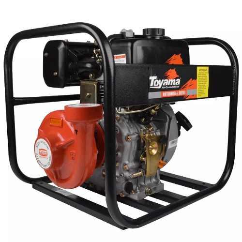 Motobomba Diesel Centrífuga Para Incêndio Tdc25n10be Toyama
