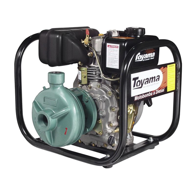 Motobomba Diesel Refrigerado A Ar Centrífuga Tdc1N5B Toyama