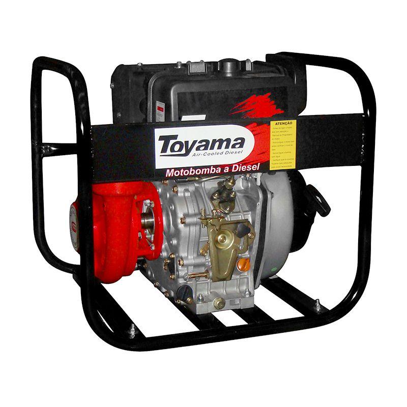 Motobomba Diesel Refrigerado A Ar Centrífuga Tdc25N10Be Toyama