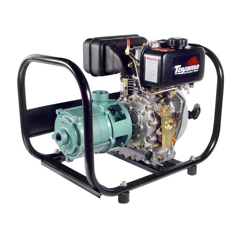 Motobomba Diesel Refrigerado A Ar Multi Estágio Tdm34N5 Toyama