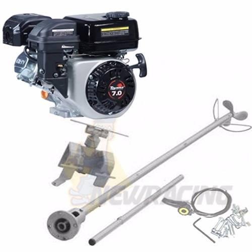 Motor Barco 7hp Bote 4t Toyama + Rabeta 1.70 Luxo Especial 2