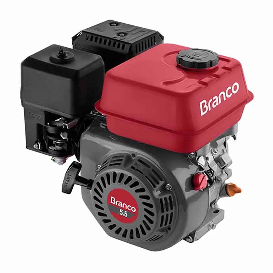 Motor Branco B4t- 5.5 Hp. Manual