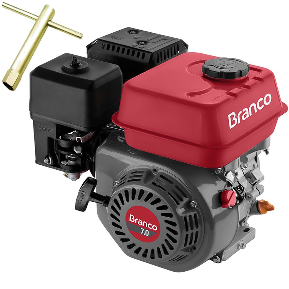 Motor Branco B4t- 7.0 Hp. Manual