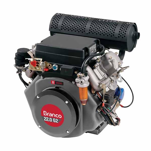 Motor Branco Bd 22.0 G2 H Part. Elétrica