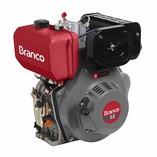 Motor Branco Bd 5.0 Eixo H  Part. Manual