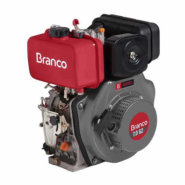 Motor Branco Bd 7.0 G2 Eixo H Part. Manual