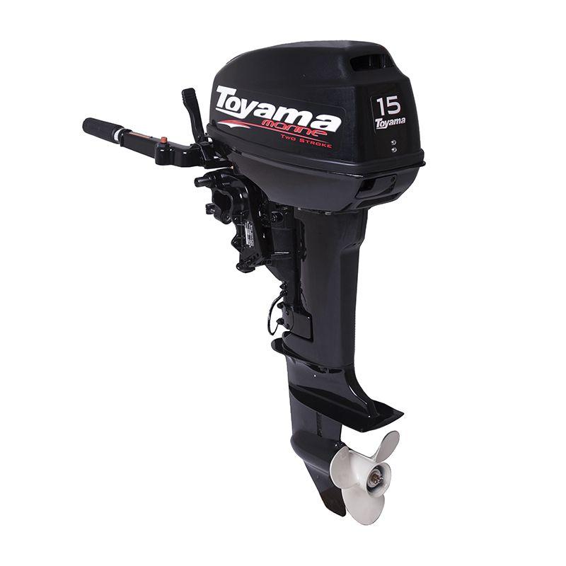 Motor De Popa - 2 Tempos - Manual - Com Marcha Tm15Ts Toyama