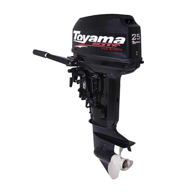 Motor De Popa - 2 Tempos - Manual - Com Marcha Tm25Ts Toyama