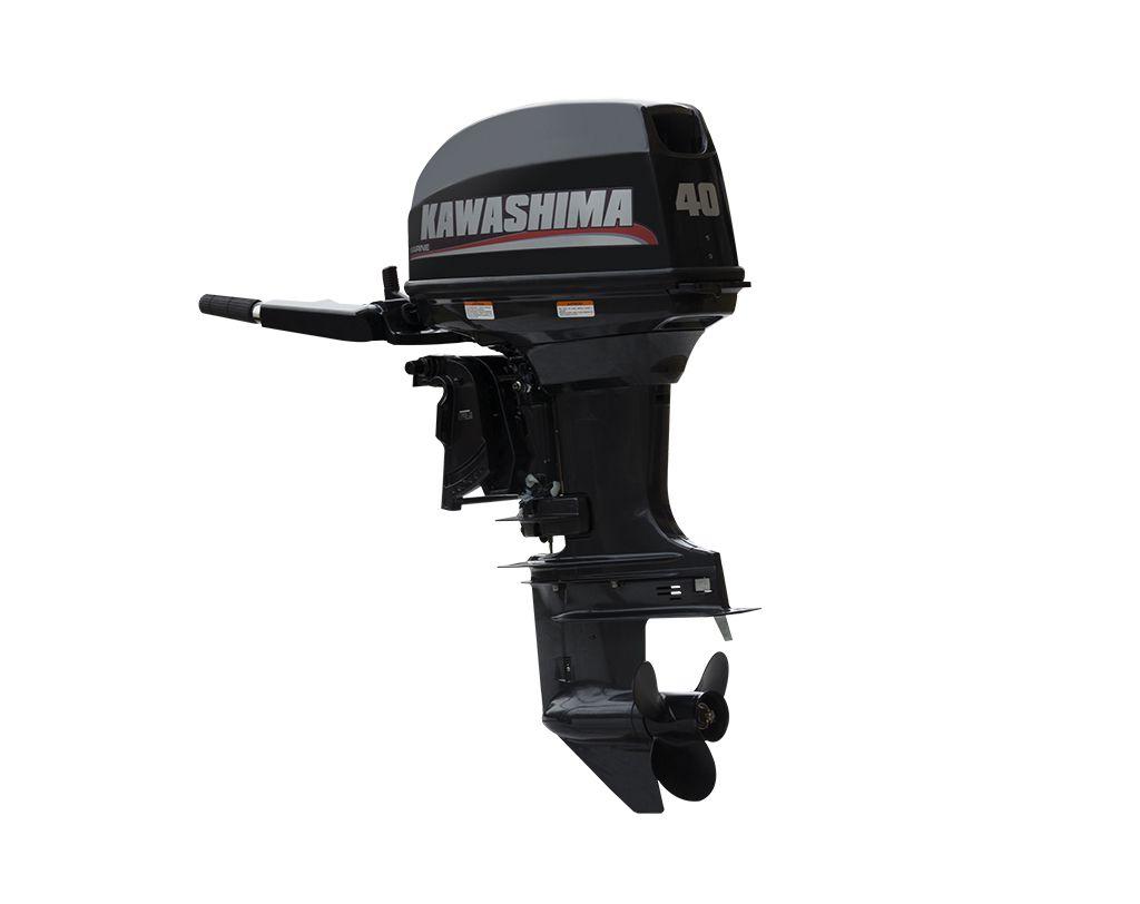 Motor De Popa Kawashima Km40Te 40Hp Kawashima