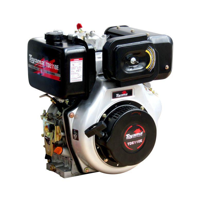 Motor Diesel Refrigerado A Ar Monocilíndrico Tde110E Toyama