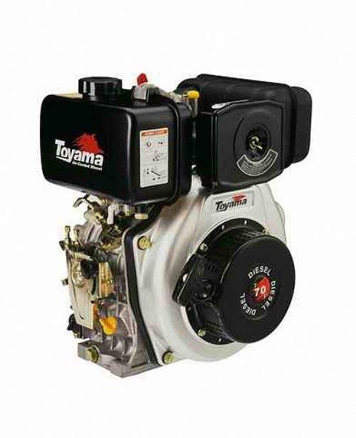 Motor Diesel Tde70E Partida Eletrica Toyama