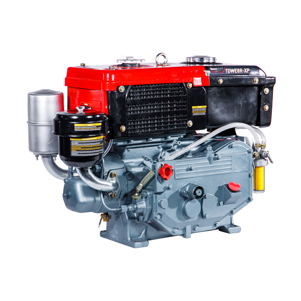 Motor Diesel Refrigerado Água Com Radiador TDWE8R-XP Toyama