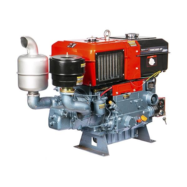 Motor Diesel Refrigerado Água Com RadiadorTDWE30RE-XP Toyama