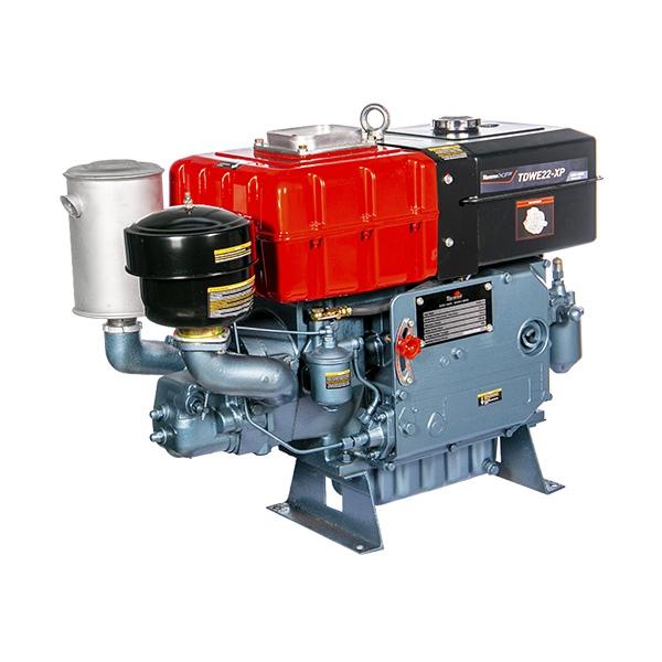 Motor Diesel Refrigerado Água Com Sifão TDWE22-XP Toyama