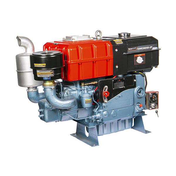 Motor Diesel Refrigerado Água Com Sifão TDWE30E-HD-XP Partida Eletrica-Hd Toyama