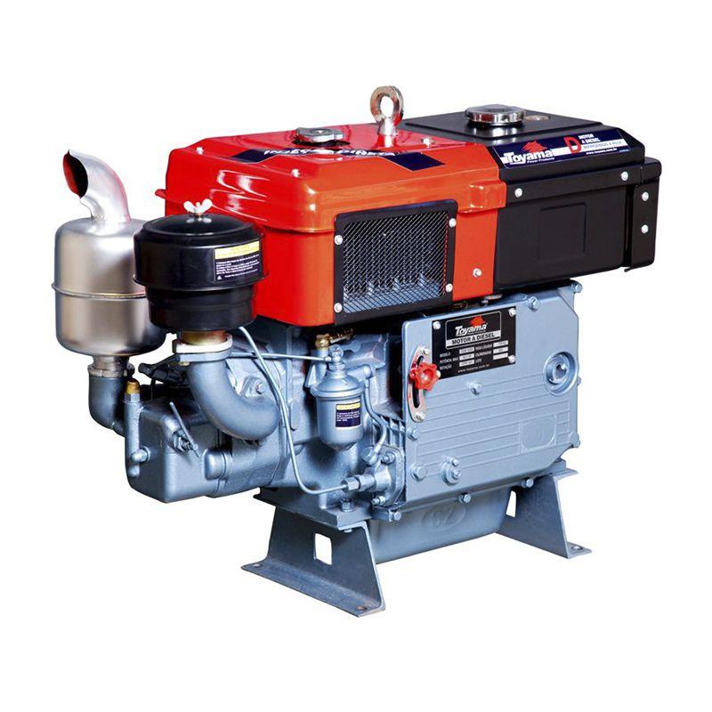 Motor Diesel Refrigerado Água Com Radiador Tdw22Dr Toyama