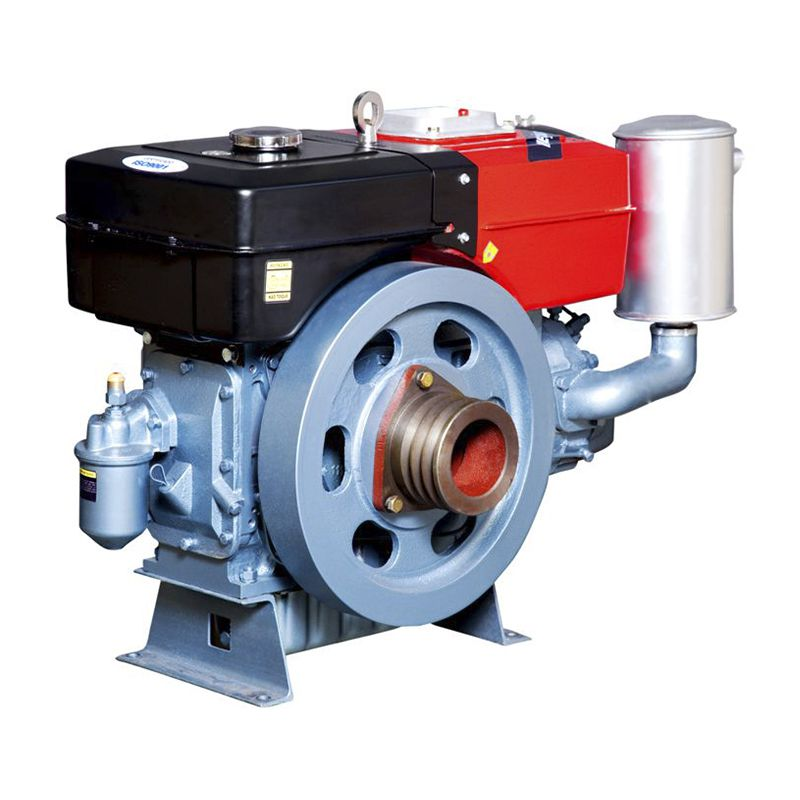 Motor Diesel Refrigerado Água Com Radiador Tdw22Dre Toyama
