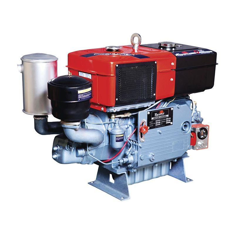Motor Diesel Refrigerado Água Com Radiador Tdw30Dre Toyama