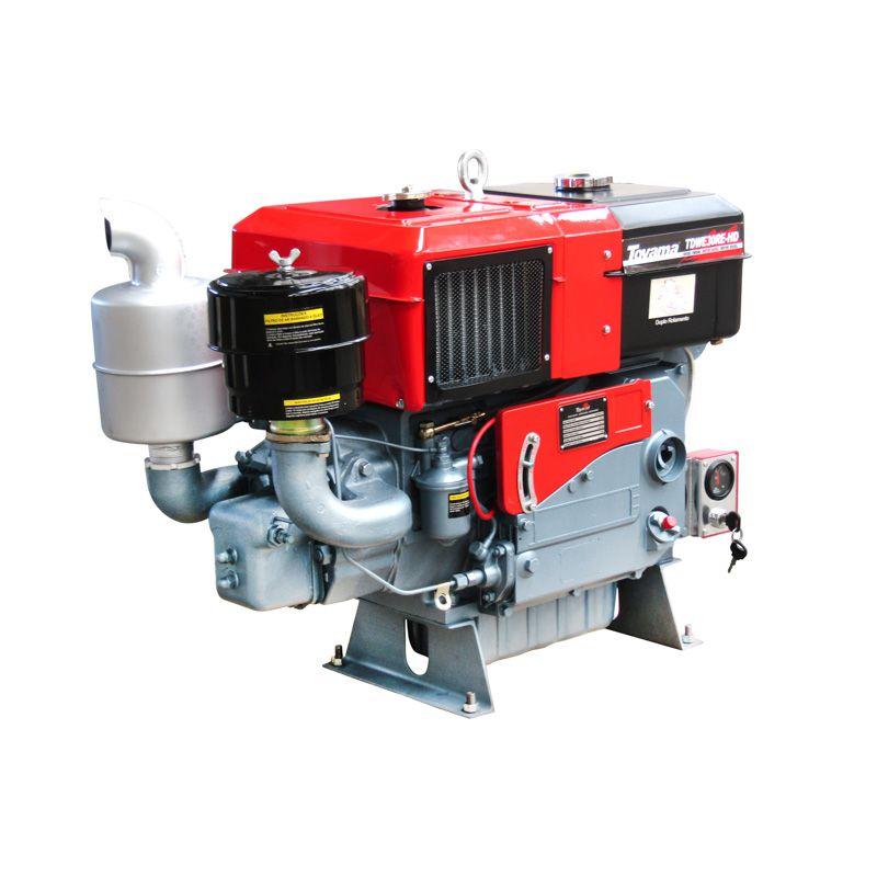 Motor Diesel Refrigerado Água Com Radiador Tdwe30Re-Hd Toyama