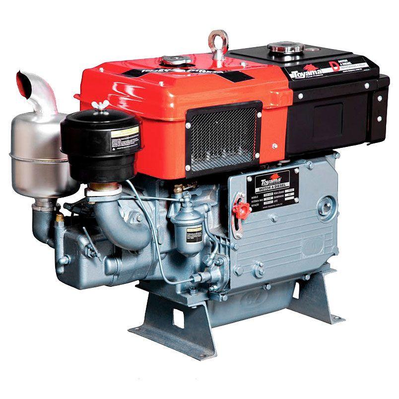 Motor Diesel Refrigerado Água Com Sifão Tdw18De2 Toyama