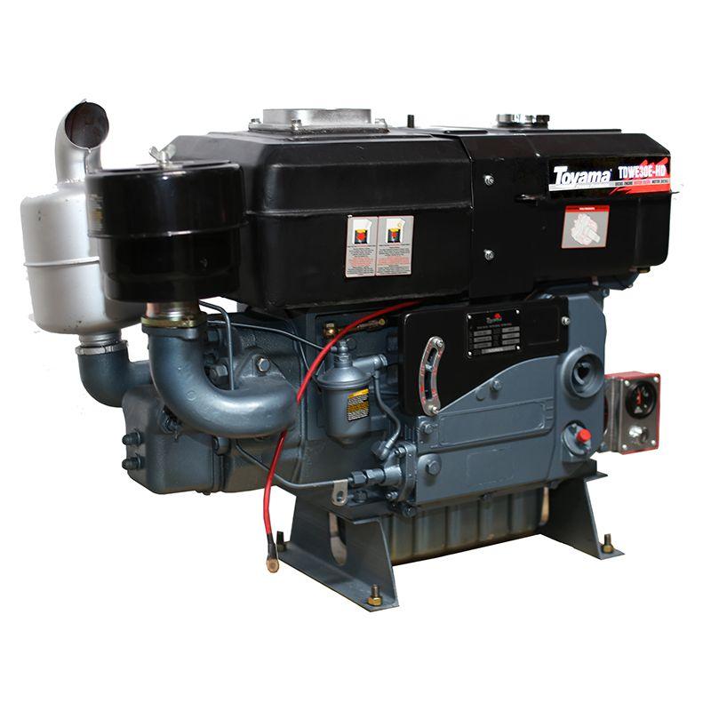 Motor Diesel Refrigerado Água Com Sifão Tdwe30E Partida Eletrica-Hd Toyama