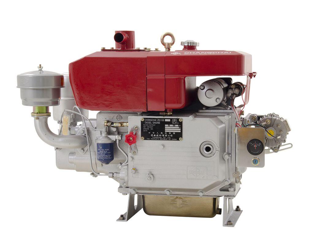 Motor Est.Diesel 18Hp/2200 Pe. Bba Agua Changchai