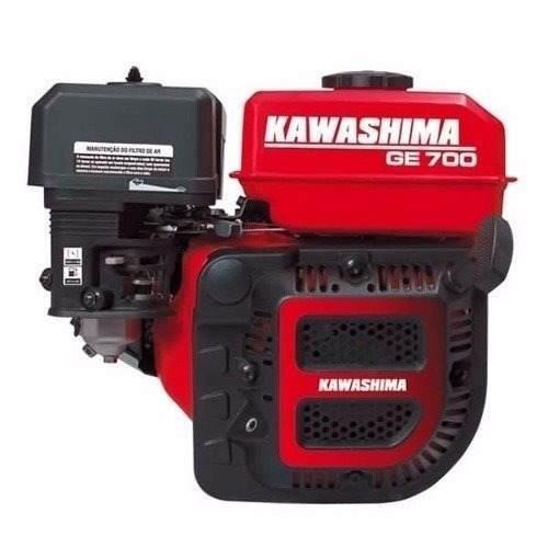 Motor Estacionário À Gasolina 4t 7,0 Hp Ge700 Kawashima