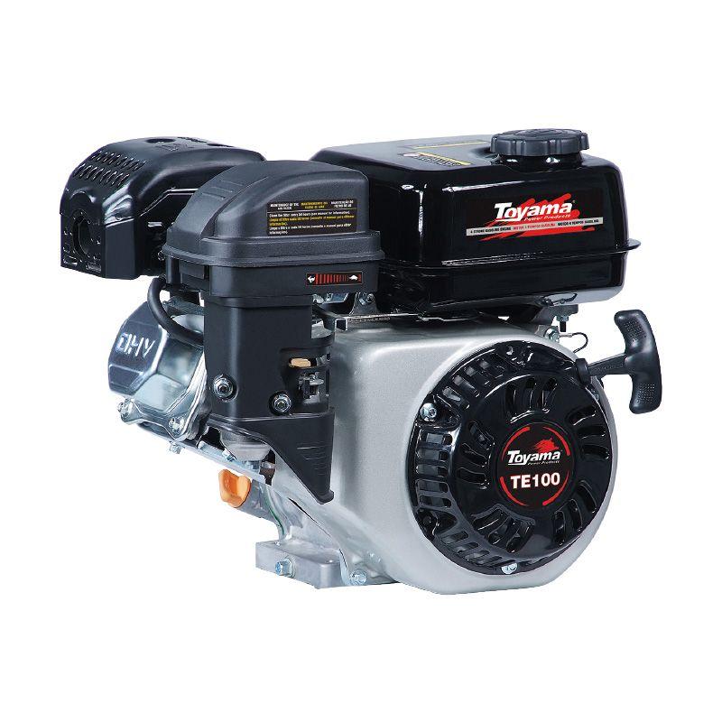 Motor Horizontal 4T 8Hp Te100E Partida Eletrica Toyama