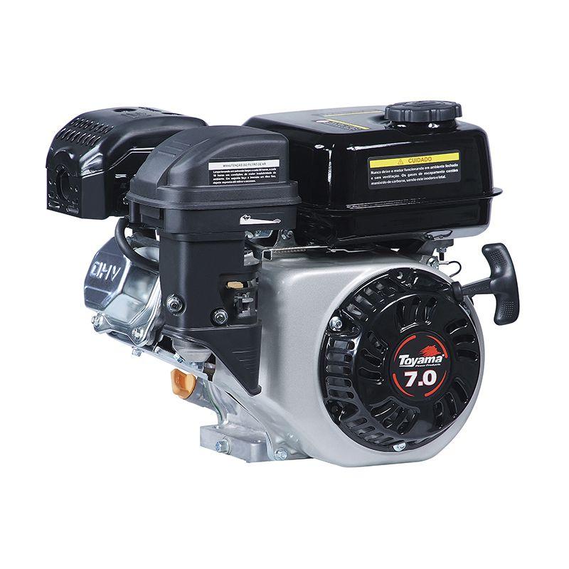 Motor Horizontal 4T Te70E Partida Eletrica Toyama