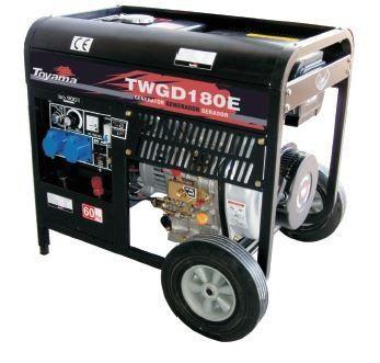 Motosoldadore A Diesel Refrigerados A Ar Twgd180E Toyama