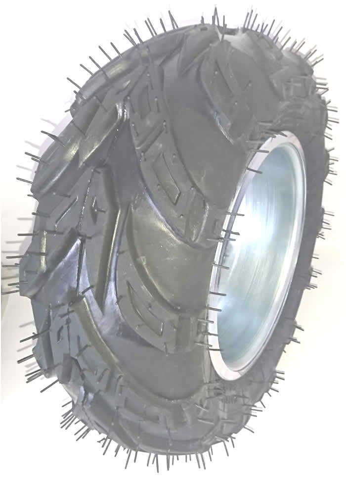 Pneu 16/8-8 - Aro 8 Montado Quadriciclos - Kart Cross Buggy