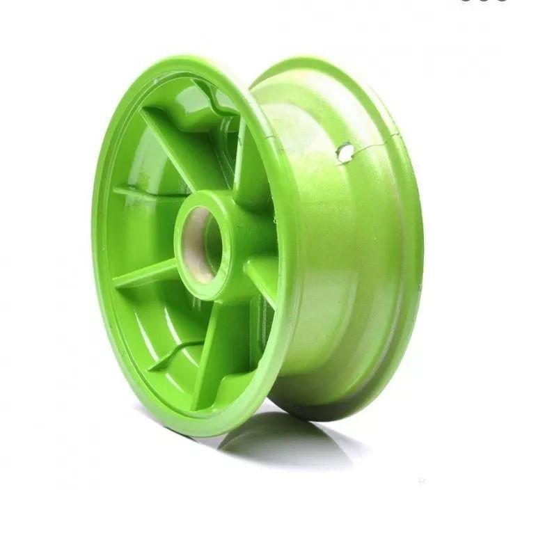 Roda Dianteira Verde  para Walk Machine