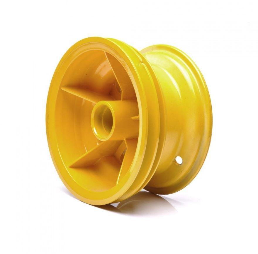 Roda Trazeira Amarela para Walk Machine