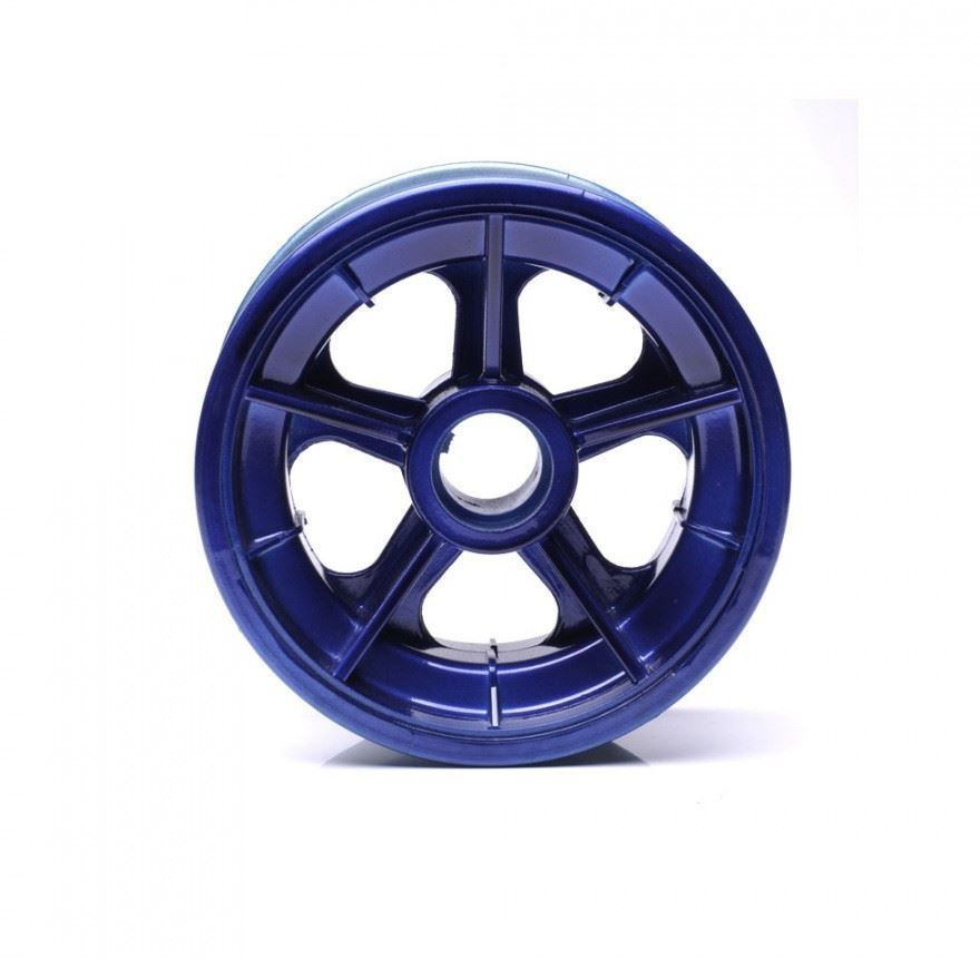 Roda Trazeira Azul para Walk Machine