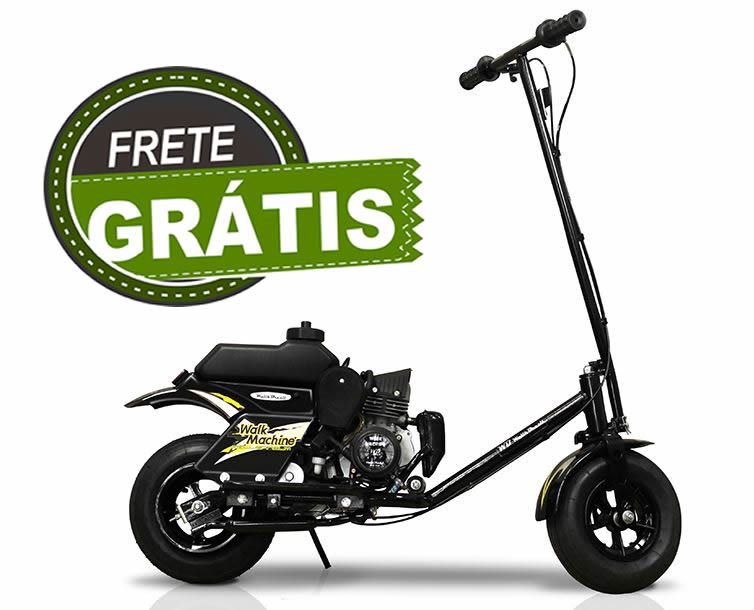 Walk Machine Millenium Novo 2019 PRETO